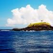Uninhabited Island off the coast of Bali